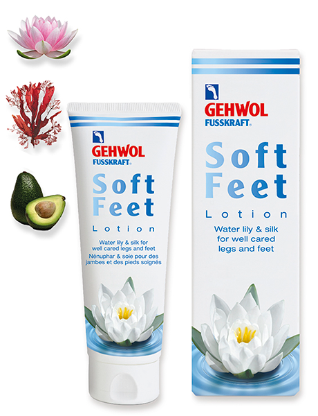 Геволь Лосьон водяная лилия и шелк Gehwol Soft Feet Lotion