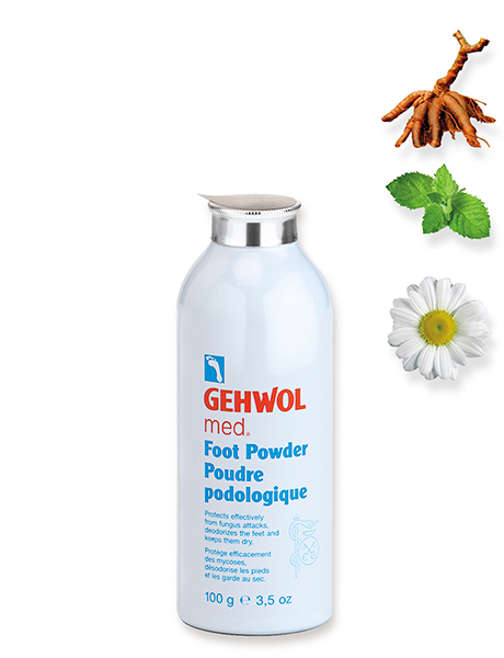 Геволь Пудра геволь мед Gehwol Med Foot Powder